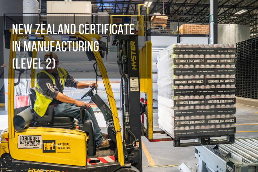 New Zealand Certificate in Manufacturing (Level 2)