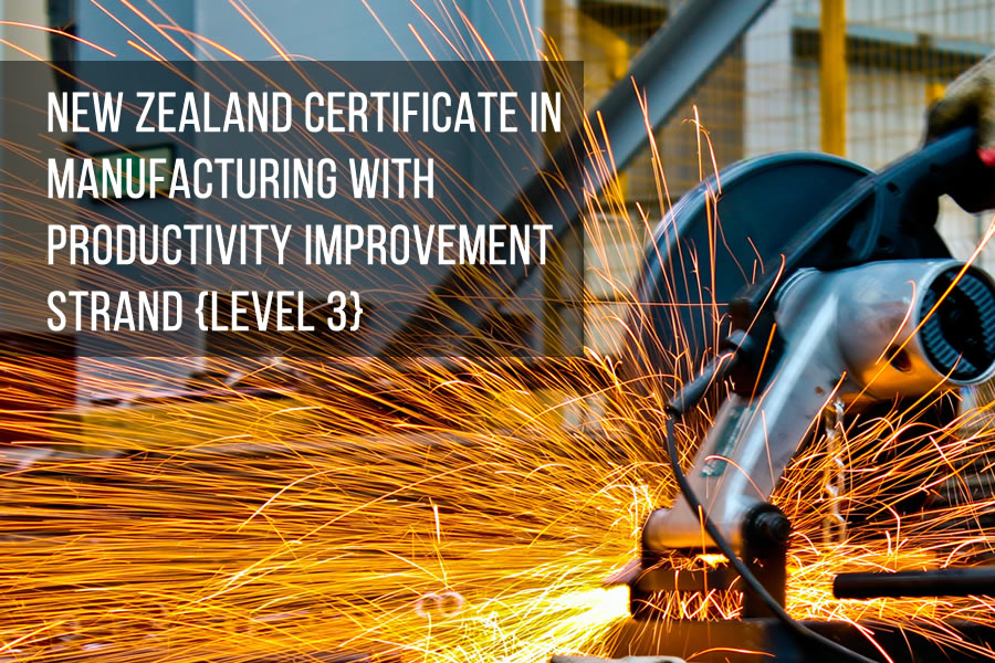 New Zealand Certificate in Manufacturing with Productivity Improvement Strand (Level 3)